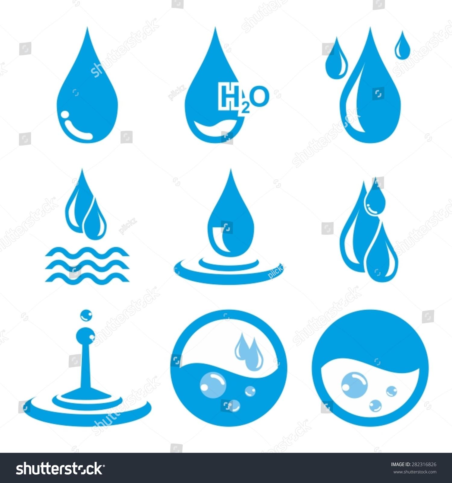 水图标矢量-自然,符号/标志-海洛创意(hellorf)-中国