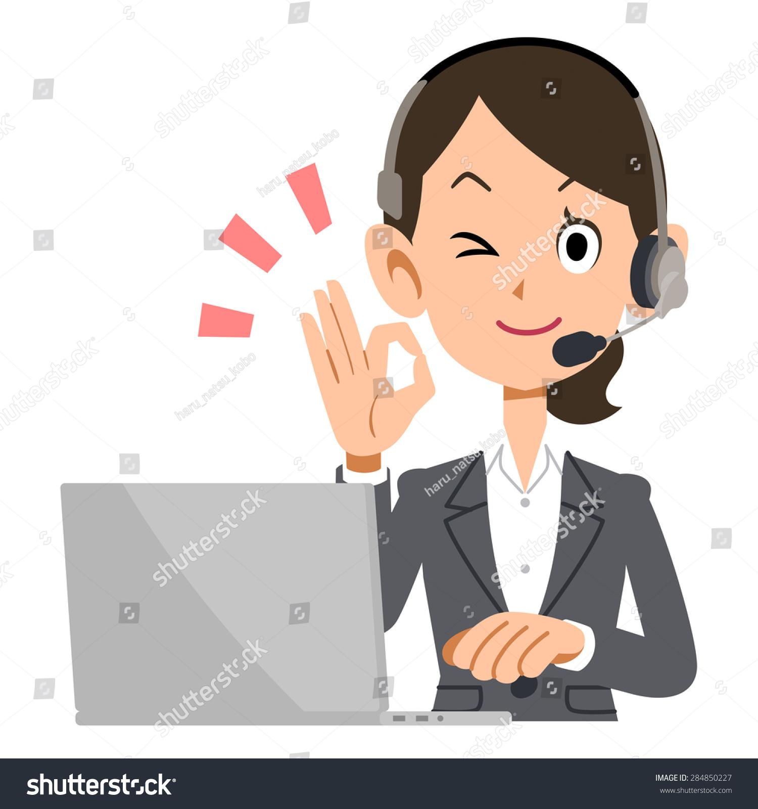 电话接线员手势语的好-商业/金融
