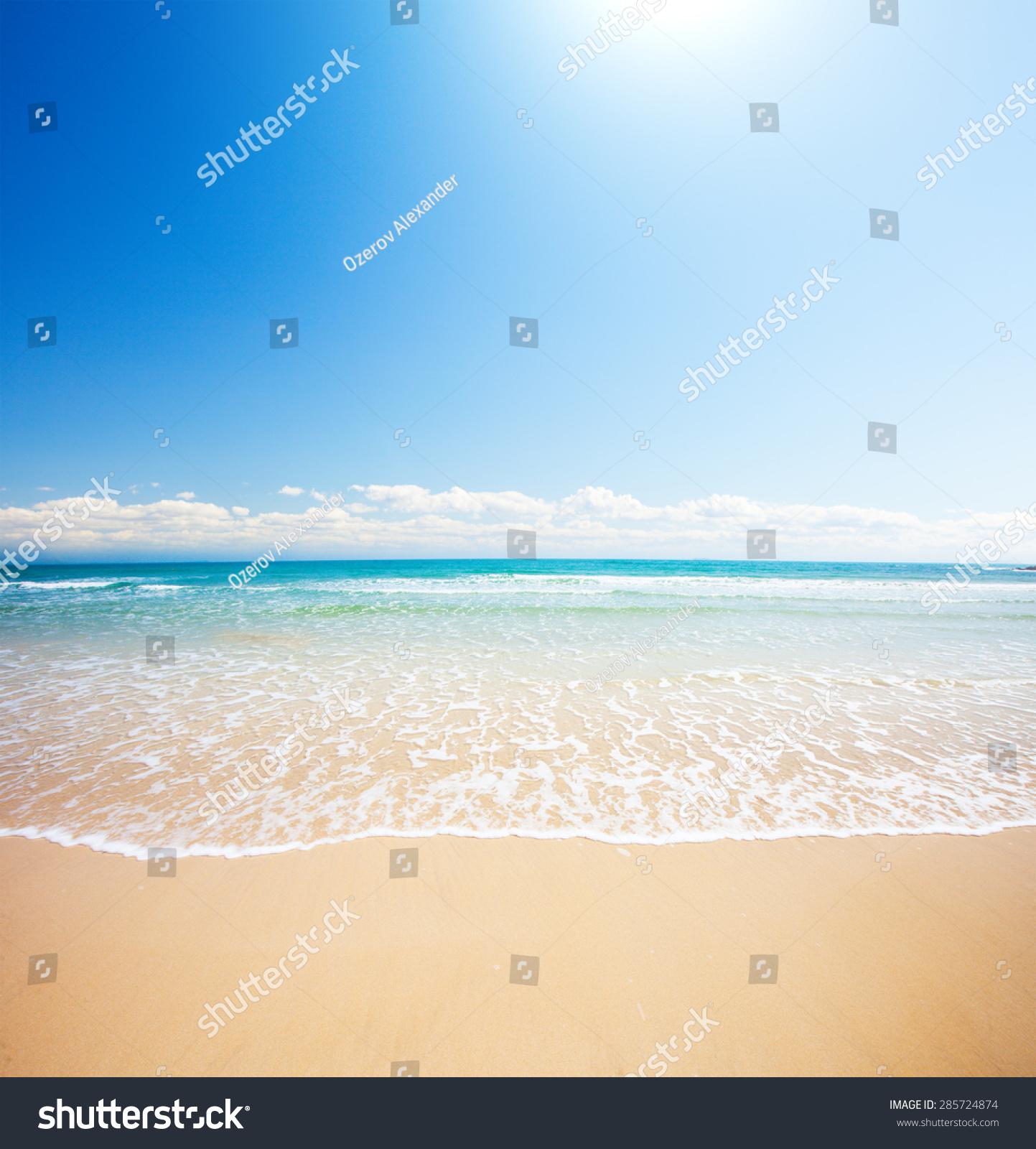 沙滩和热带海洋图片
