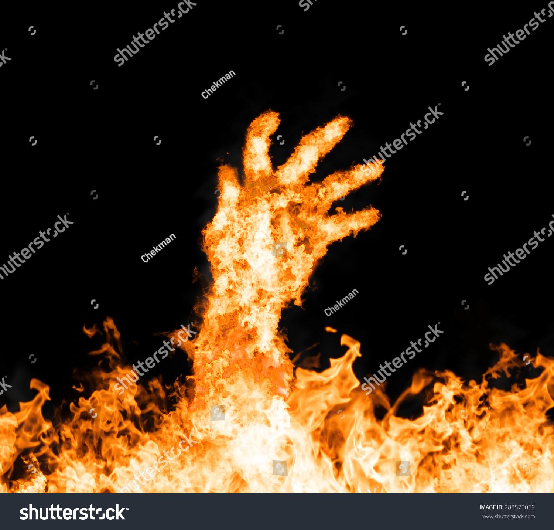 火焰c字母微信头像
