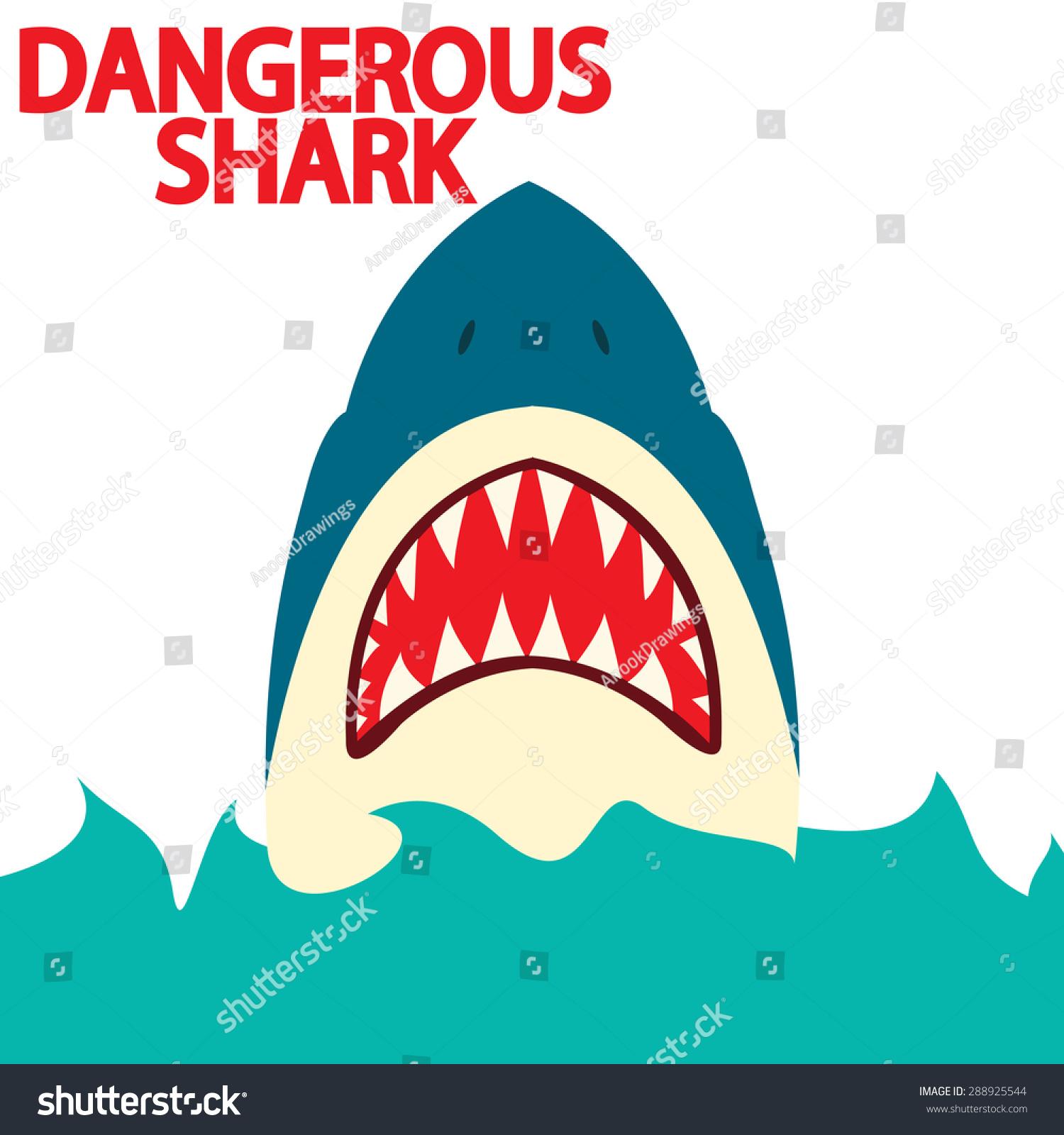 危险的鲨鱼-动物/野生生物