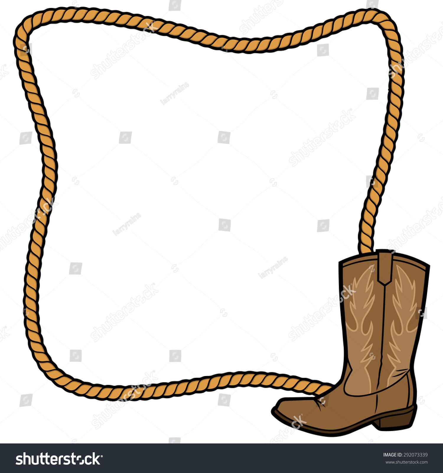 绳子框架和牛仔靴-符号/标志,其它-海洛创意(hellorf)