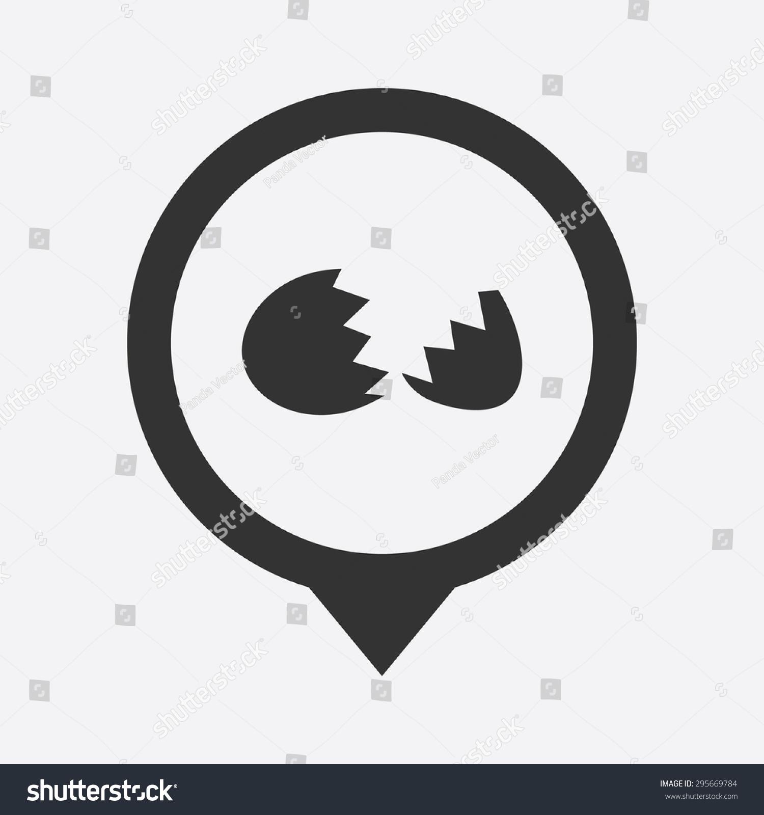矢量图的食物图标-符号/标志