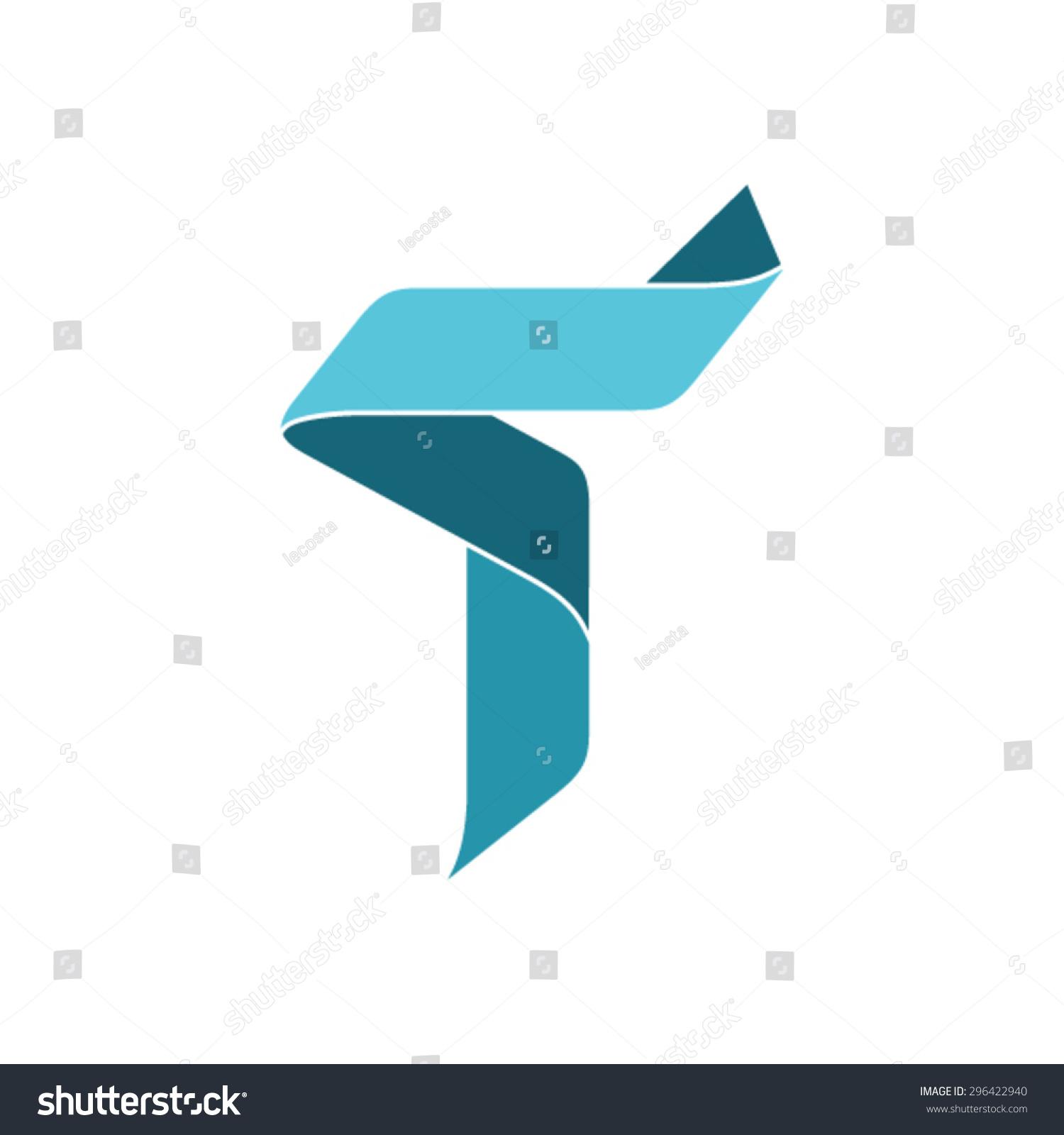 字母t标志设计模板.-符号/标志-海洛创意(hellorf)-.