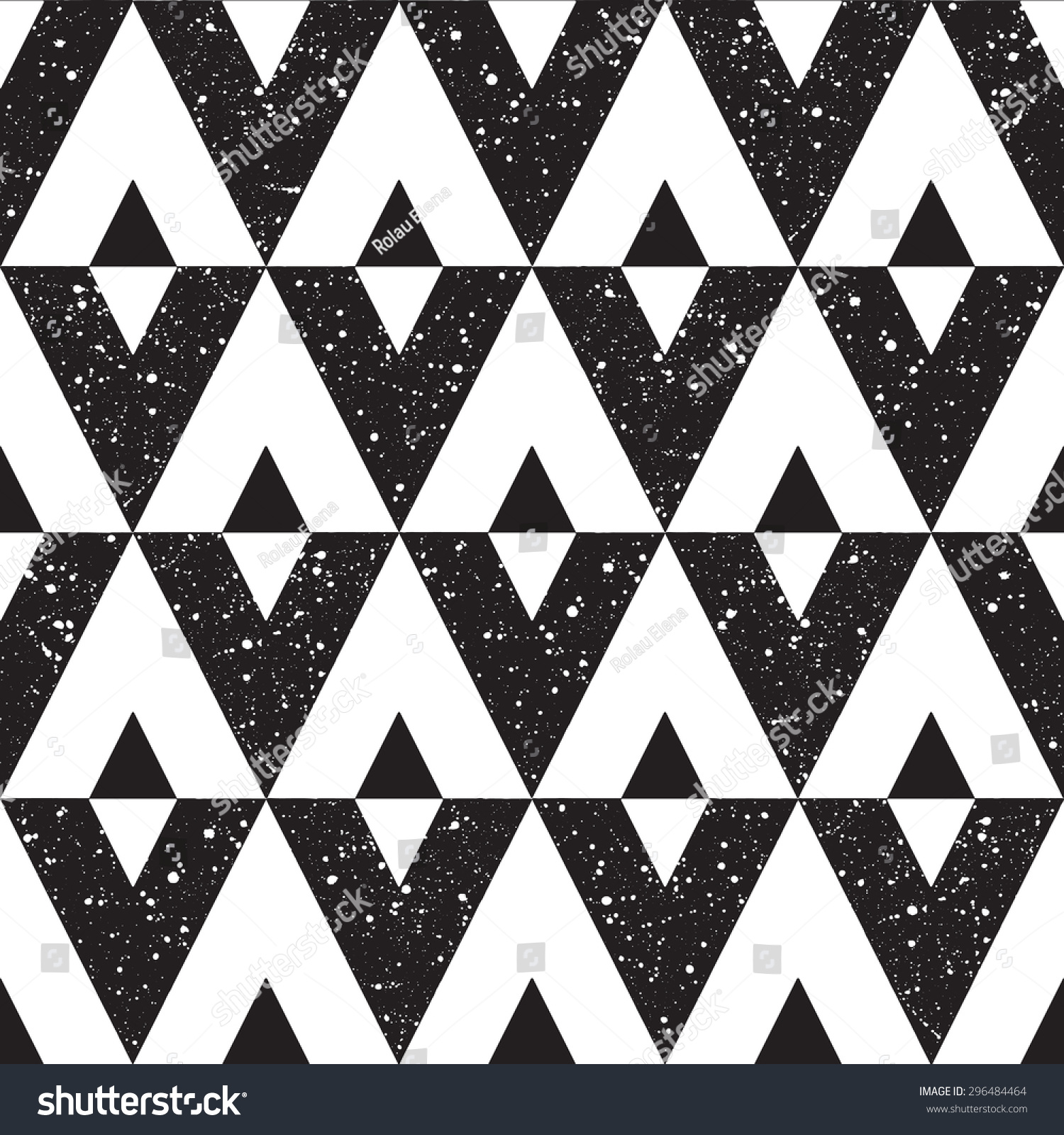 黑白手绘纹理.黑白色斑点.光栅的版本.