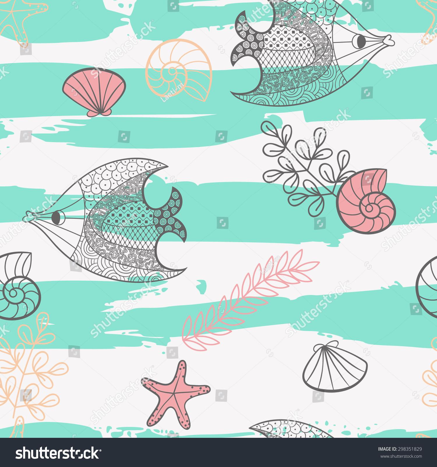 微信手绘头像鱼