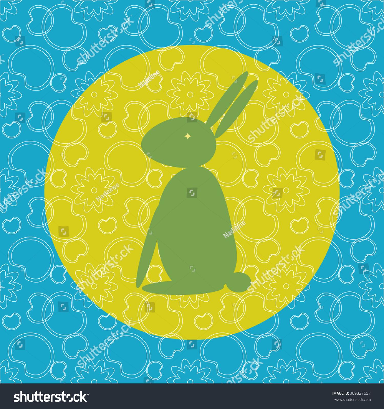 中国的中秋节明信片的设计.月亮兔子从亚洲神话.兔子图片