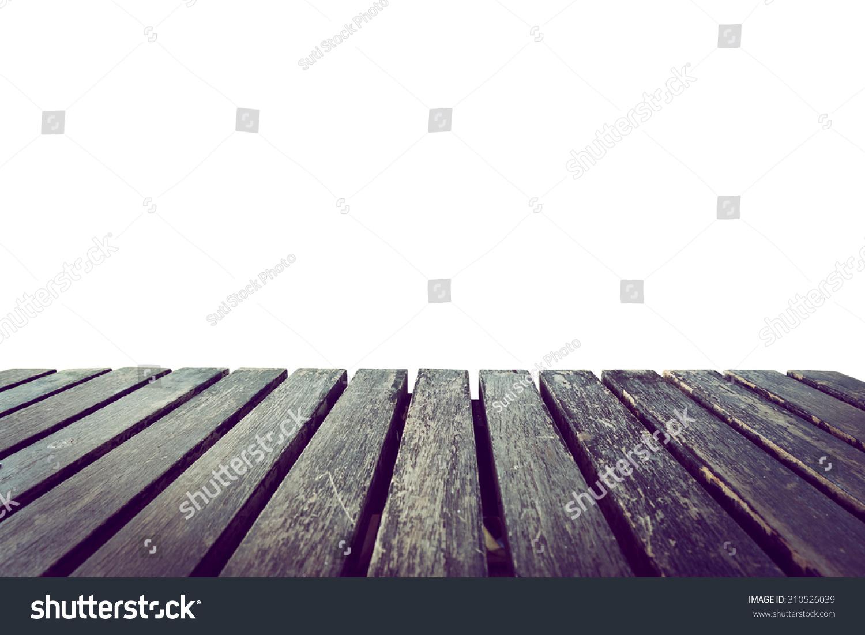 老式木板,白色背景-背景/素材,抽象-海洛创意(hellorf