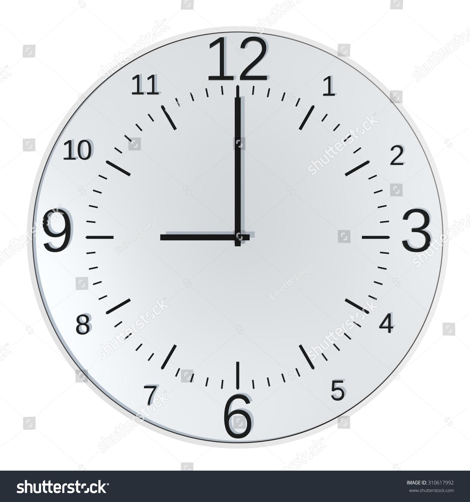 时钟矢量图ppt
