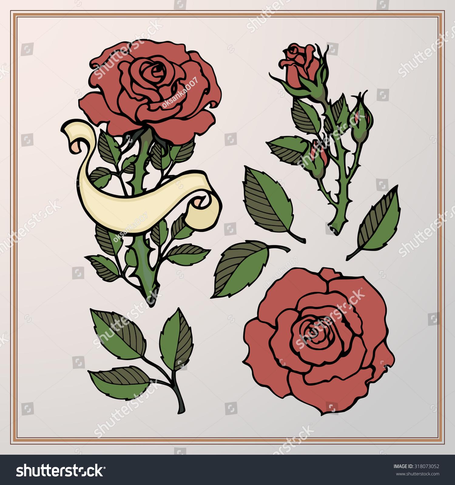 素描玫瑰花丛_玫瑰手绘图片简单画法-玫瑰花怎么画简单好看,简单的玫瑰花的 ...