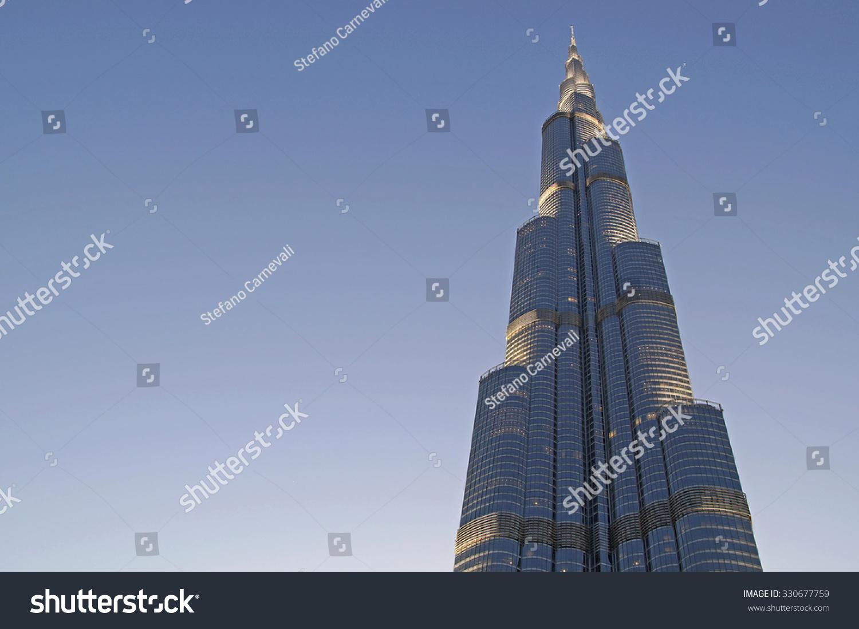 迪拜塔是世界上最高的建筑
