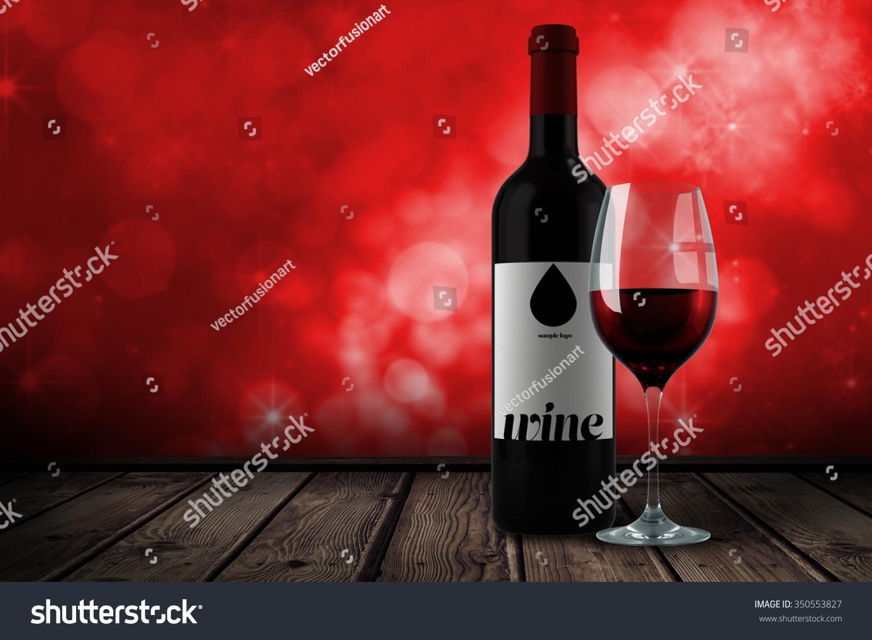 红酒对闪闪发光的灯设计红色-背景/素材,抽象-海洛()